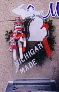 sock monkey made in Michigan